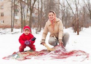 Средства для чистки ковров в домашних условиях