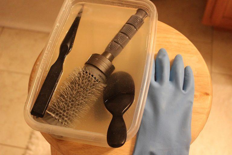 как почистить расческу из натуральной щетины