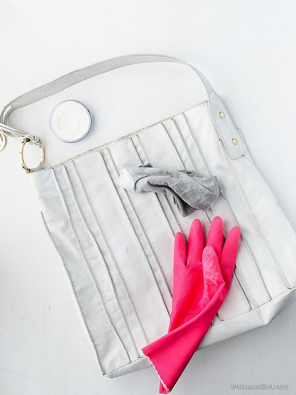 Чем отмыть белую сумку из кожи своими руками 47