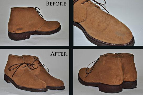 Как восстановить замшевую обувь в домашних условиях Обновить цвет, устранить потертости и пятна