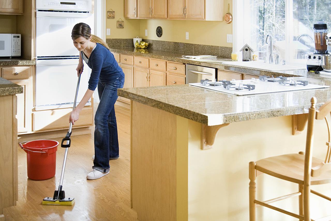 Уборка на кухне - правила и советы с 35