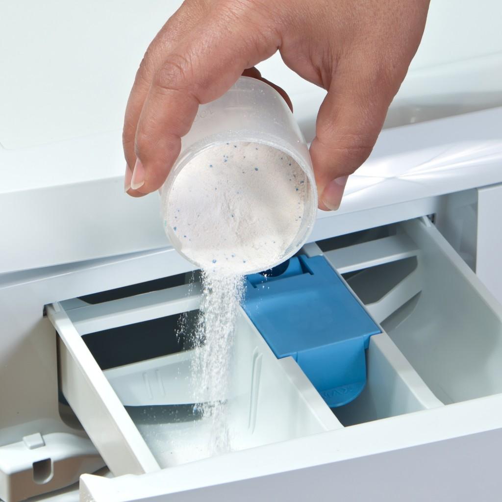 Почему после стирки остается вода в отсеке для кондиционера